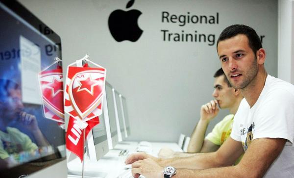 kosarkasi crvene zvezde se skoluju na BusinessAcademy