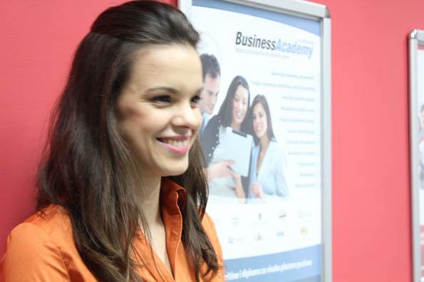 Jelena Jovanovic BusinessAcademy stipendija