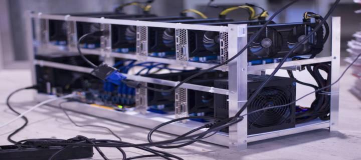 Uređaj za proizvodnju kriptovalute