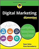 Knjiga Digital Marketing for Dummies autora Ryan Deiss i Russ Henneberry